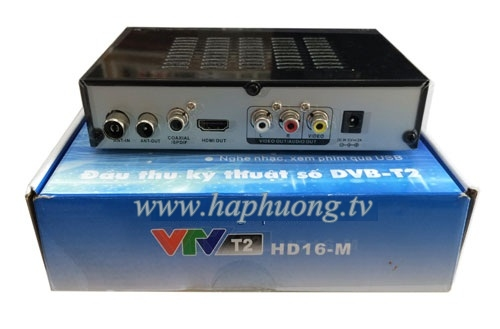 Đầu kỹ thuật số DVB T2 - VTV