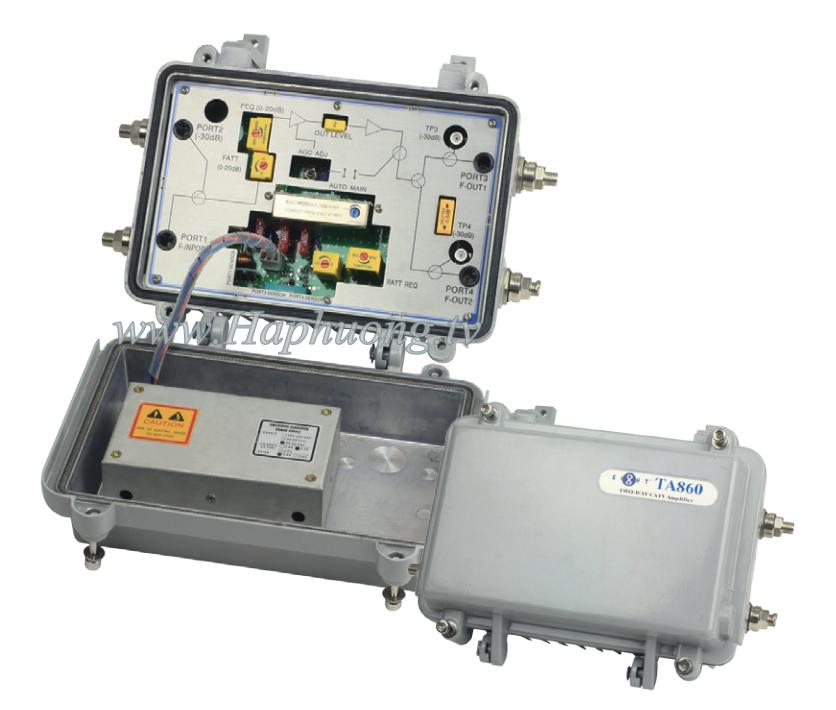 khuếch đại tín hiệu trục Eight TA860