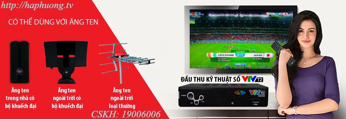 anten thu sóng kỹ thuật số DVB T2 nhỏ gọn