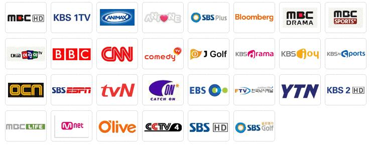 gói kênh i[tv hàn quốc