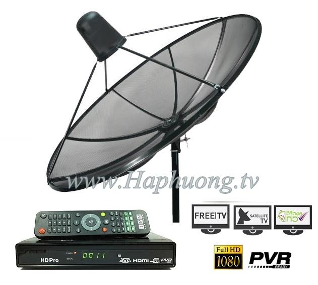 bộ thiết bị thu truyền hình vệ tinh