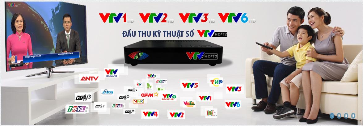 VTV HD/T2 xem truyền hình HD