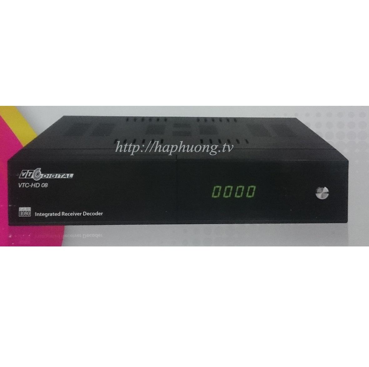 Bộ giải mã kỹ thuật số VTC HD 08
