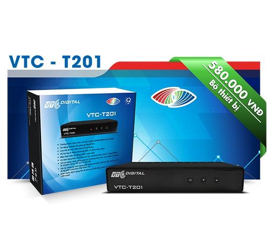 Đầu kỹ thuật số DVB T2 - VTC-T201