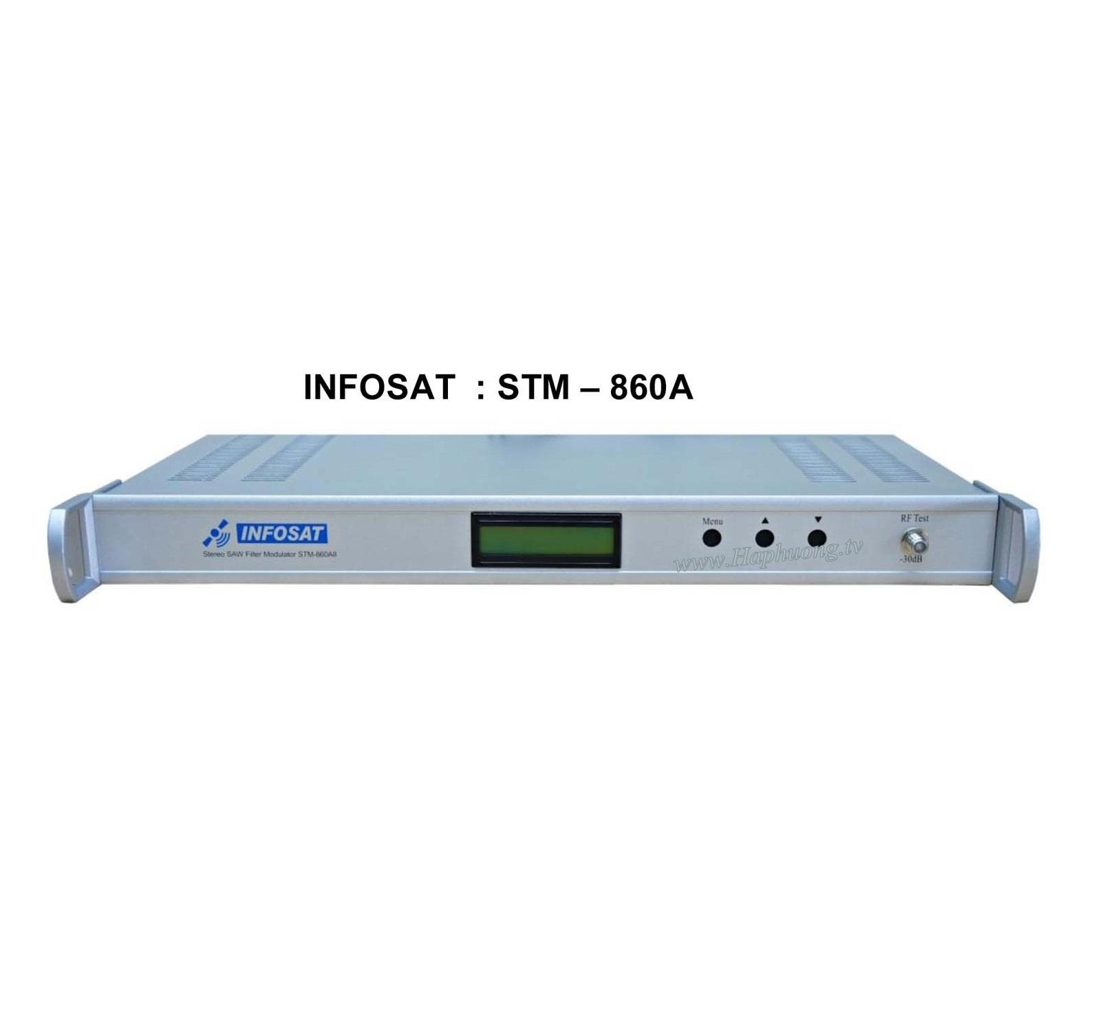 Điều chế Infosat STM-860A