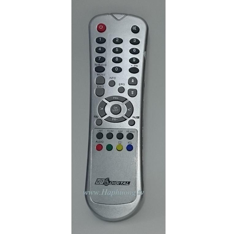 Điều khiển đầu thu VTC SD