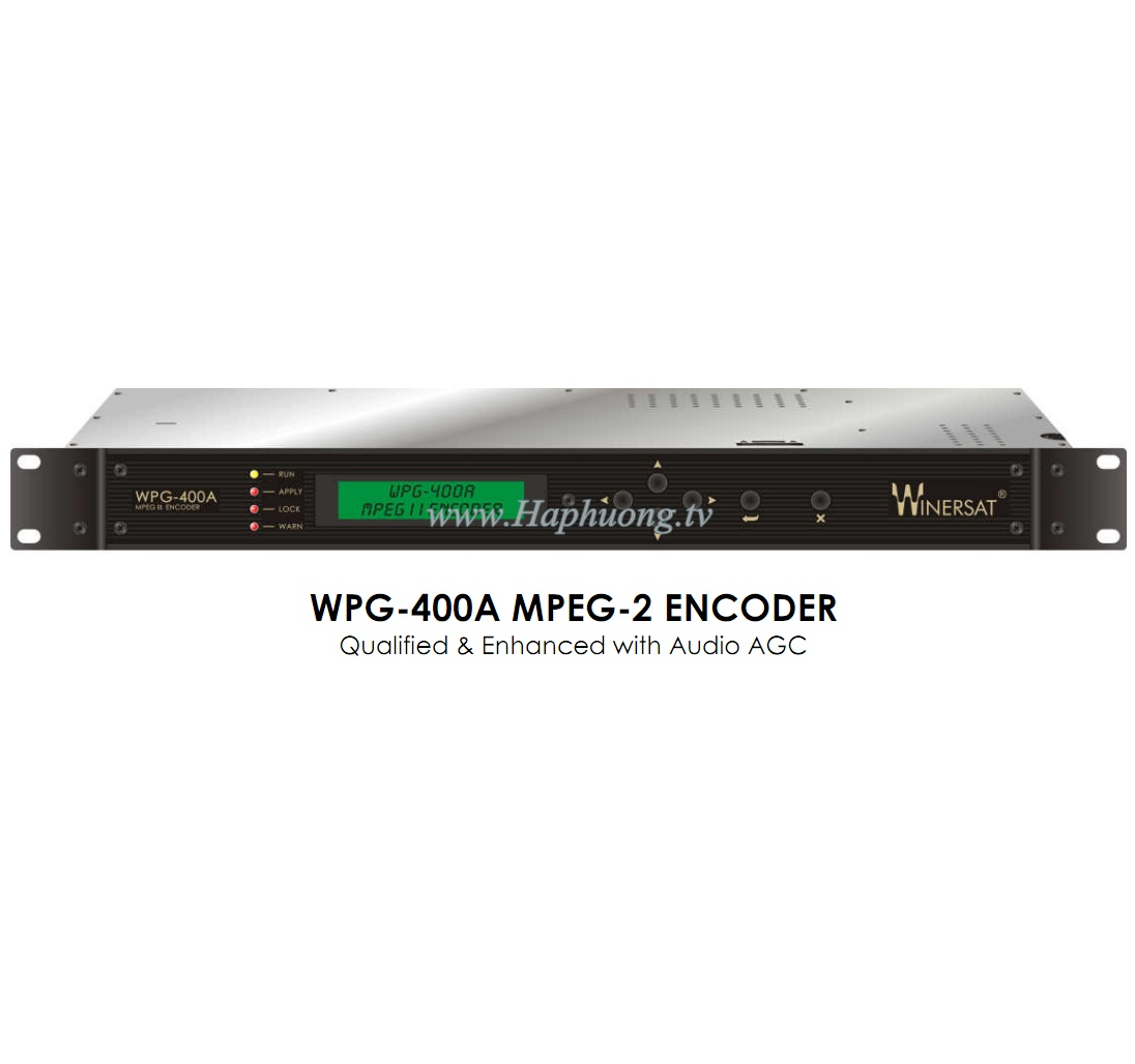 Encoder MPEG 2 Winersat WPG-400A
