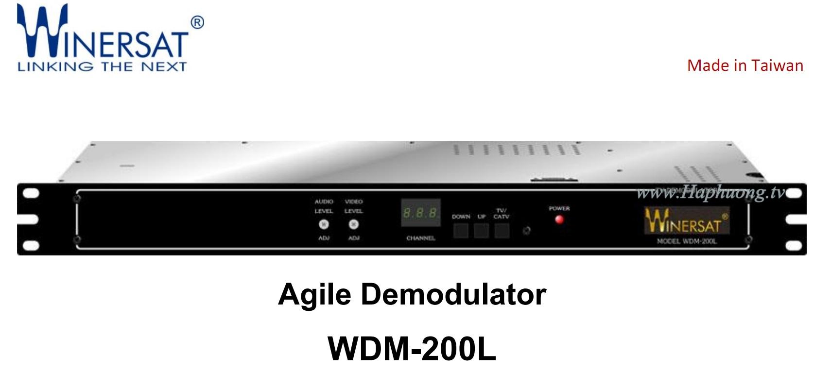 Giải điều chế Winersat WDM-200L