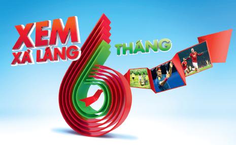 K+ Khuyễn mãi xem xả láng 6 tháng gói Premium HD+