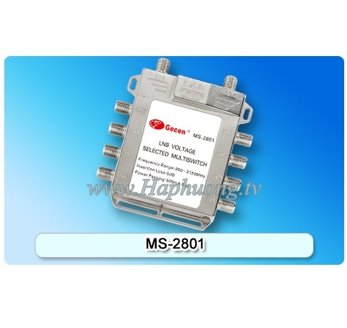 Multiswitch Gecen MS-2801