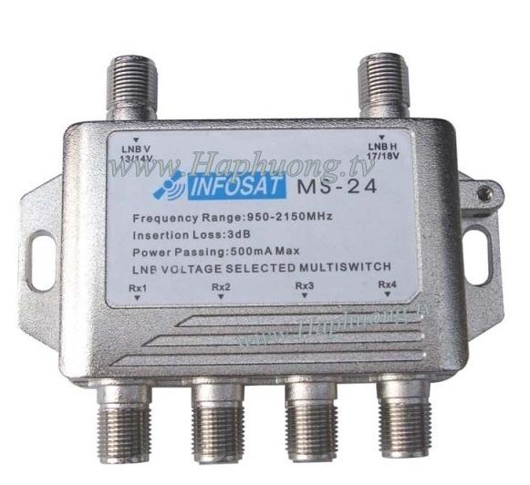 Multiswitch Infosat MS-24