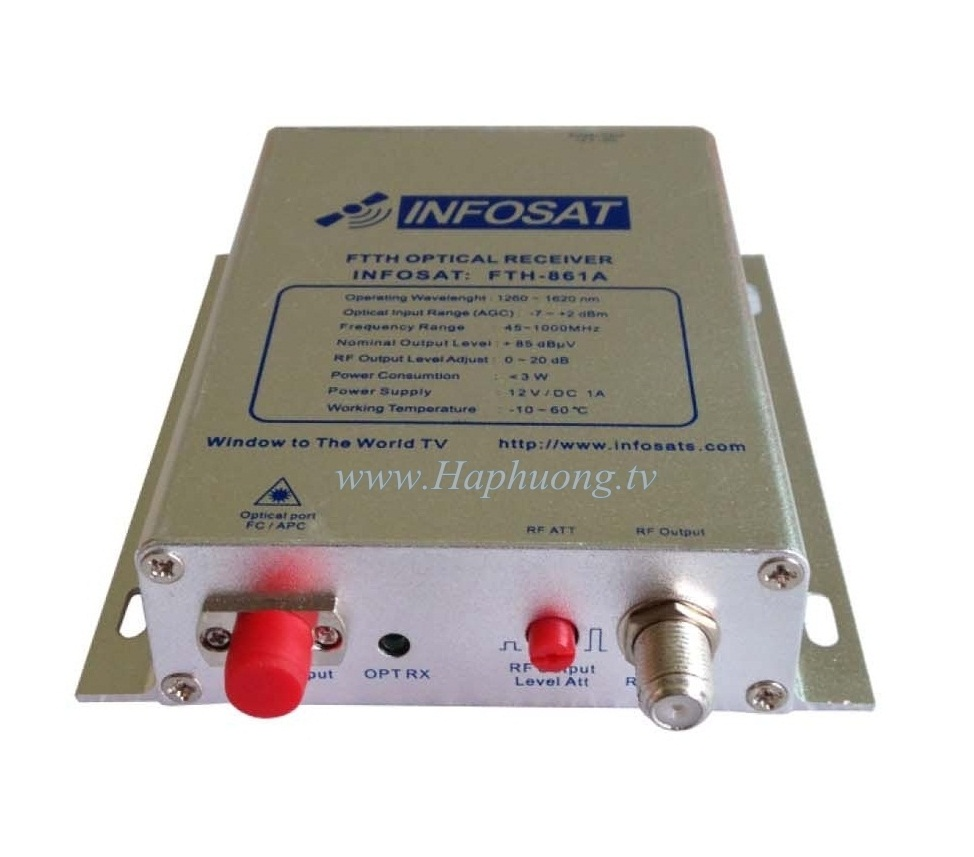 Node quang Infosat FTH-861A