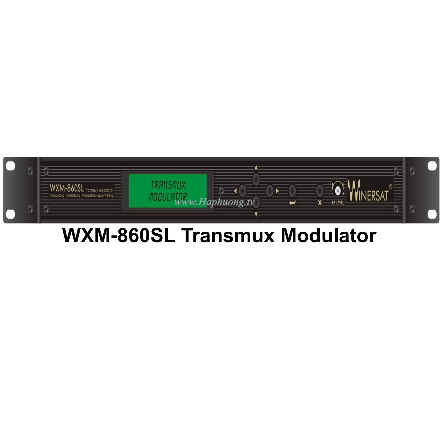 Transmux Modulator Winersat WXM 860SL