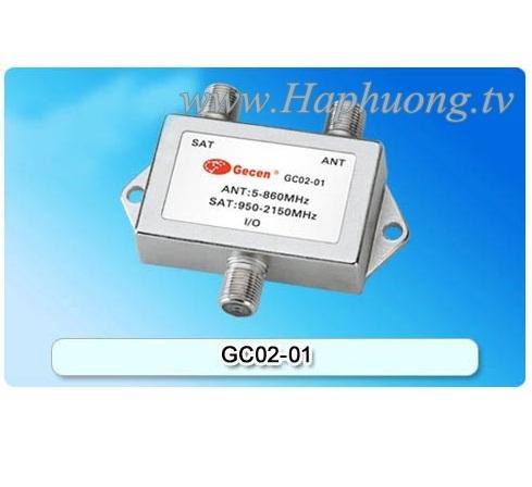 Trộn tín hiệu UHF/VHF-SAT