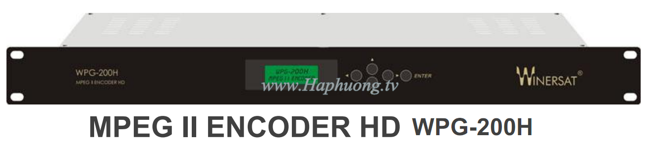 Encoder Mpeg2 HD Winersat WPG-200H