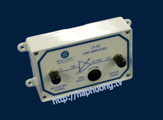 LA30 L-Band Line Amplifier