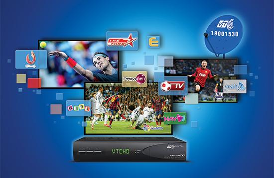 Thêm chùm kênh VTV Cab đặc sắc trên Truyền hình vệ tinh VTC