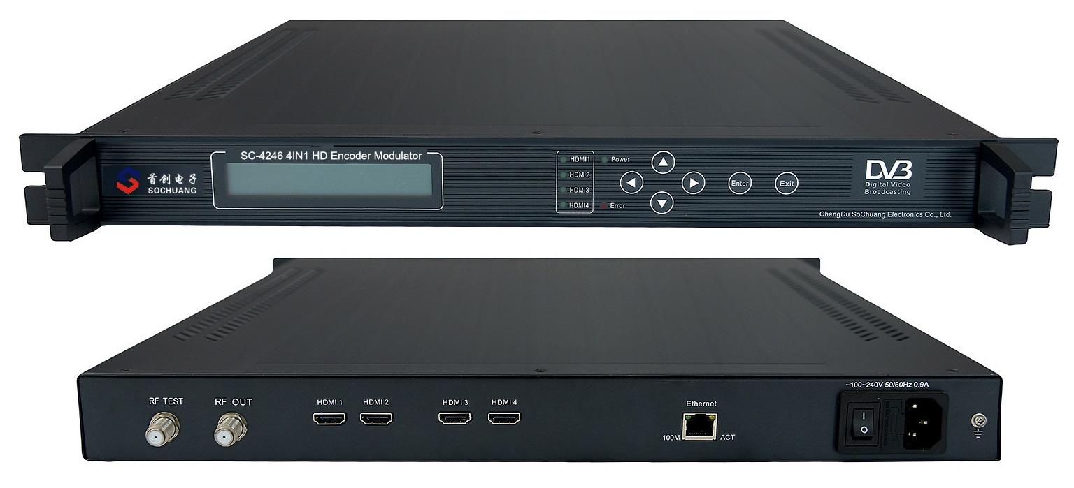 Điều chế DVB T: SC-4246