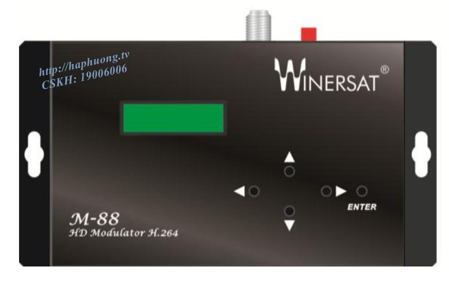 Điều chế số DVB T/C Winersat M-88