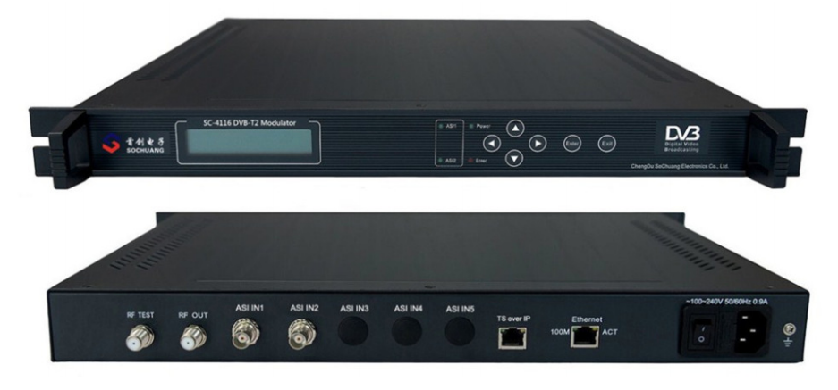 Điều chế số DVB-T2: SC-4116