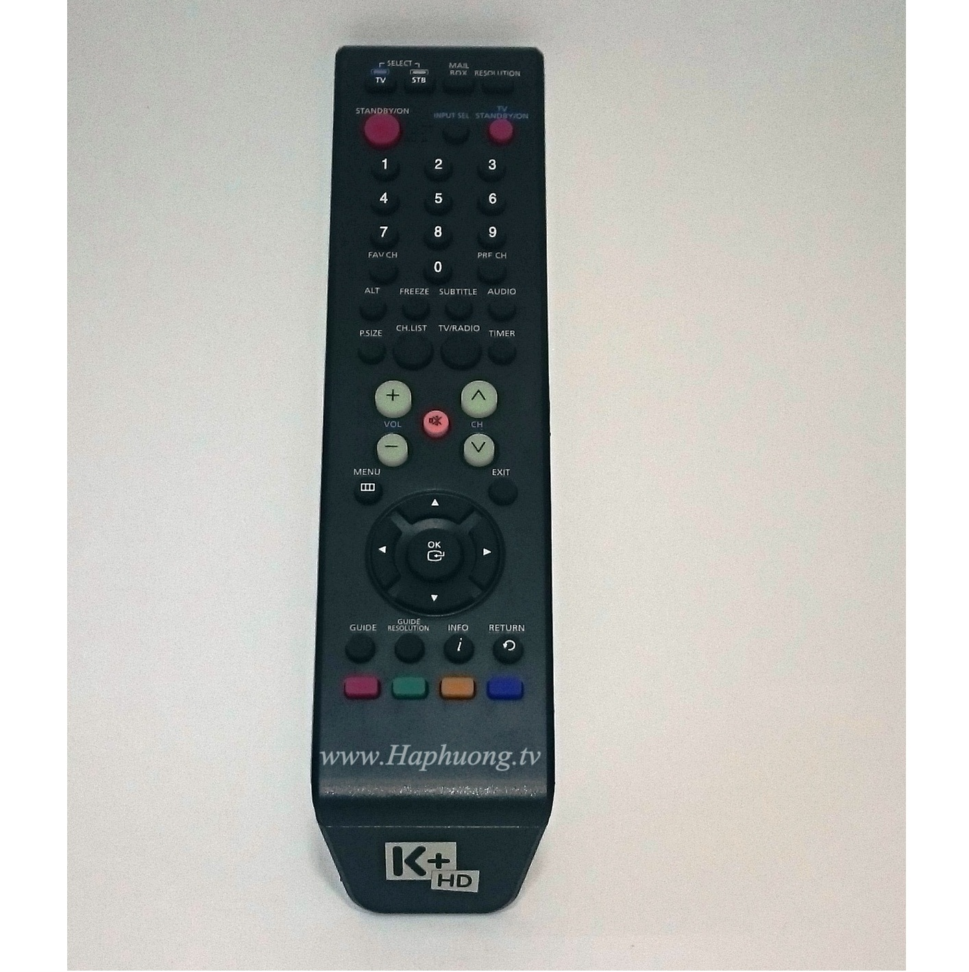 Điều khiển đầu thu K+ HD : Samsung SMT S5060