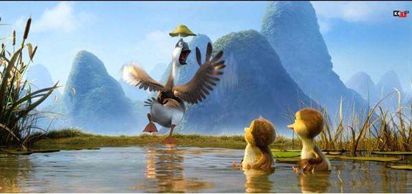 Duck duck goose – Chú ngỗng thích thể hiện