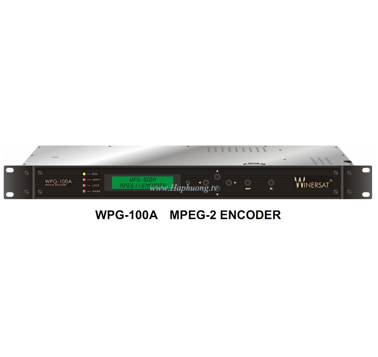 Encoder MPEG 2 Winersat WPG-100A