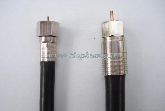 Giắc nối F5-RG11 loại ép ngang