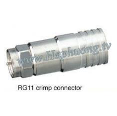 Giắc nối Kim F5-RG11 loại ép ngang
