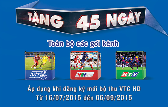 Hòa mình vào một thế giới thể thao với truyền hình vệ tinh VTC