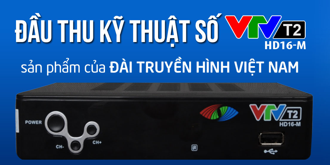 Hướng dẫn sử dụng đầu thu Kỹ thuật số T2 VTV HD T2: HD-16M