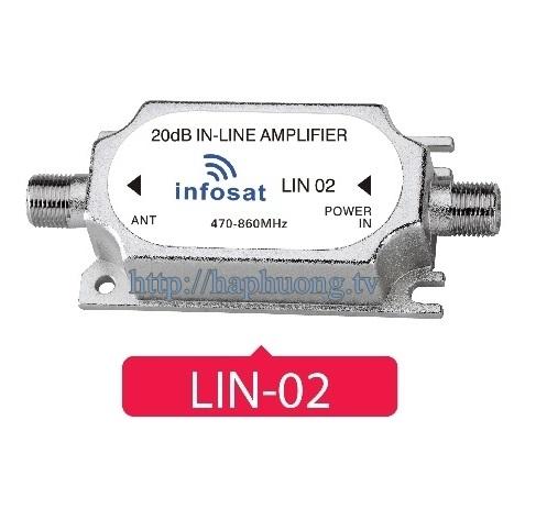 Khuếch đại tín hiệu dường dây Infosat LIN-02
