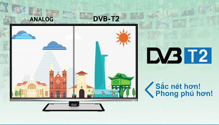 Lắp đặt truyền hình kỹ thuật số DVB T2 xem miễn phí