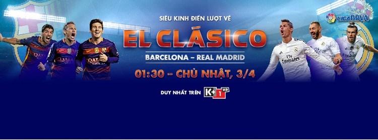 Lịch phát sóng các sự kiện thể thao tuần 14 ( 2/4 - 8/4) trên các kênh K+