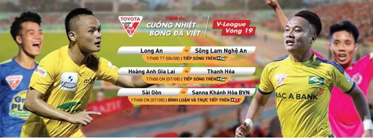 Lịch phát sóng các sự kiện thể thao tuần 32 (6/8 - 12/8) trên các kênh K+