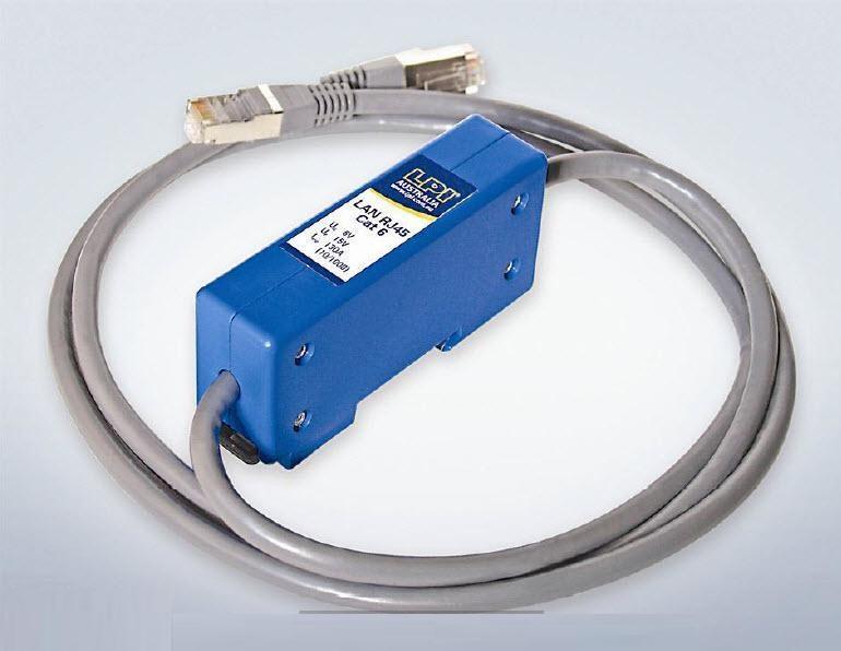 LPI: LANRJ45-CAT6 thiết bị chống sét cho đường mạng máy tính