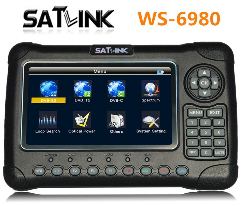 Máy đo tín hiệu DVB S/S2/T2/C Satlink WS-6980