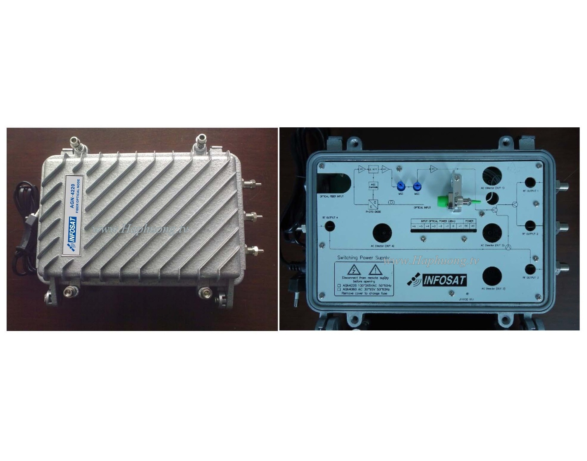 Node quang Outdoor Infosat AGN-4220