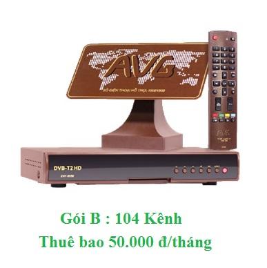 Truyền hình An Viên DTT gói B