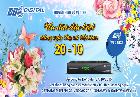 Ưu đãi hấp dẫn mừng ngày Phụ Nự Việt Nam 20/10