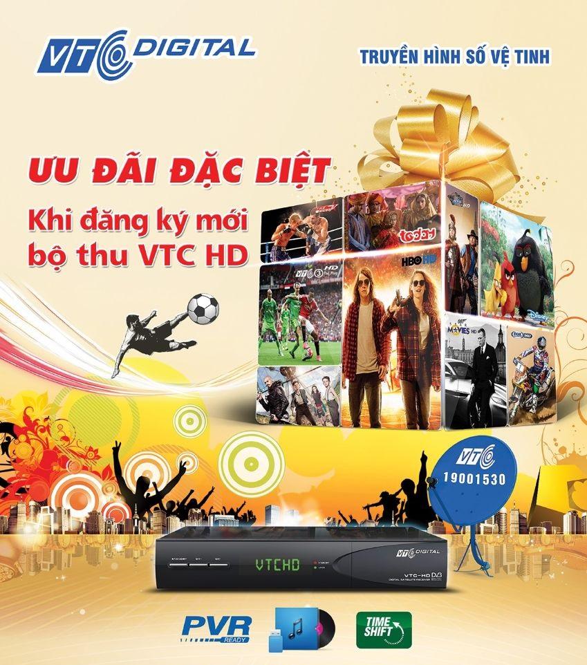 Ưu đãi hấp dẫn trong tháng 11 từ truyền hình VTC